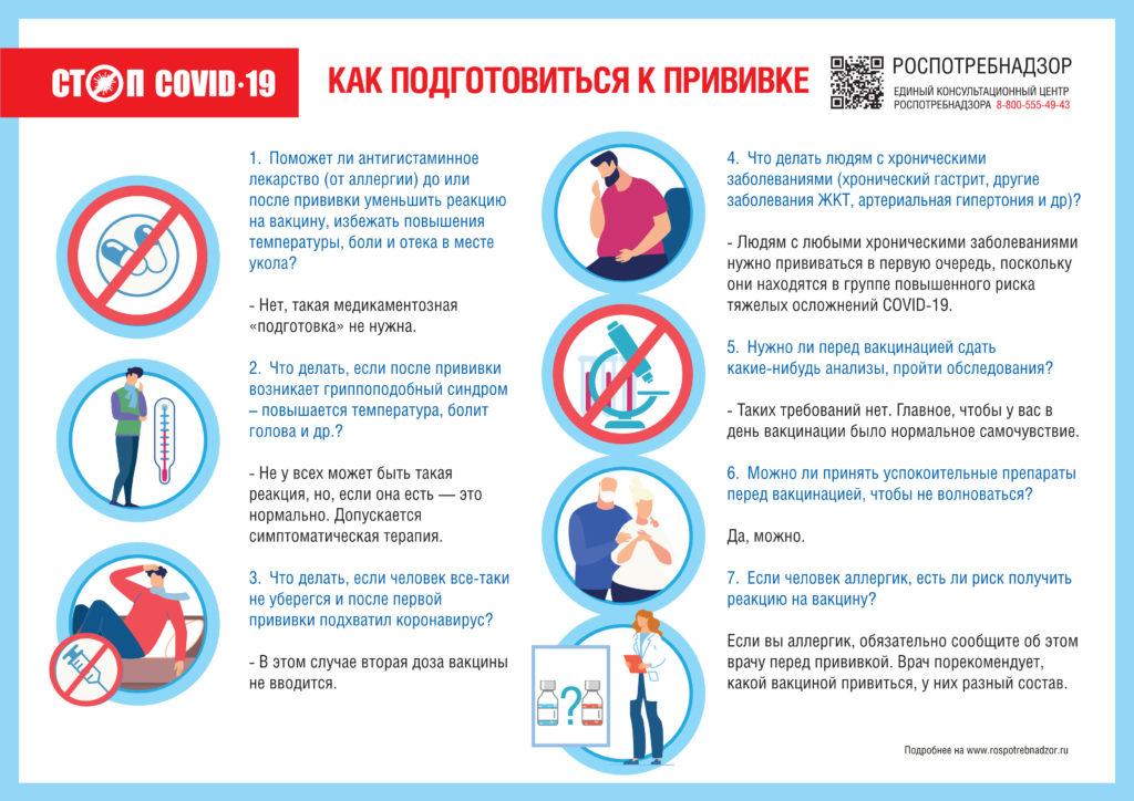 Памятка Covid-19 вакцинация